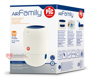 PiC Solution AiR Family II inhalator tłokowy